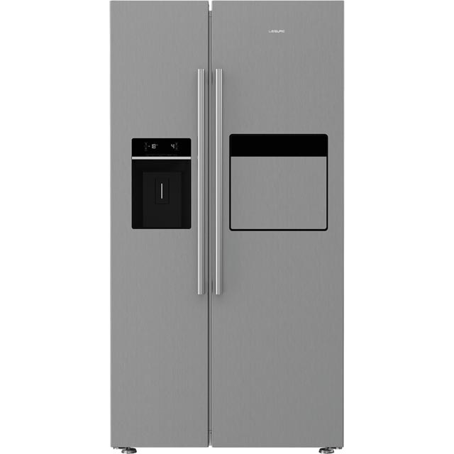 Leisure LASP41MPX American Fridge Freezer - Brushed Steel - LASP41MPX_BS - 1