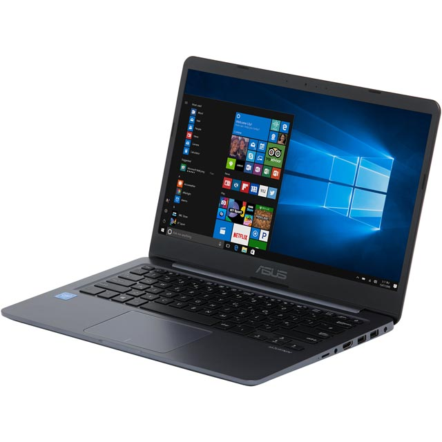 "Asus Vivobook E406 14"" Cloudbook Laptop Includes Office 365 Personal 1-year subscription with 1TB Cloud Storage - Star Grey - E406MA-BV129TS - 1"