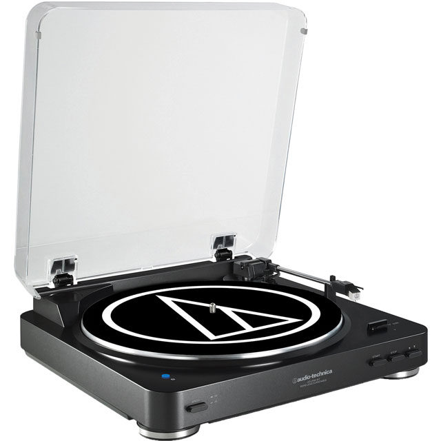 Audio Technica AT-LP60BKBT Record Turntable with Bluetooth with Bluetooth - Black