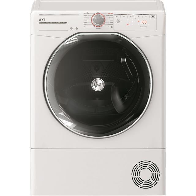 Hoover AXI ATDHY10A2KEX Wifi Connected 10Kg Heat Pump Tumble Dryer - White - A++ Rated - ATDHY10A2KEX_WH - 1