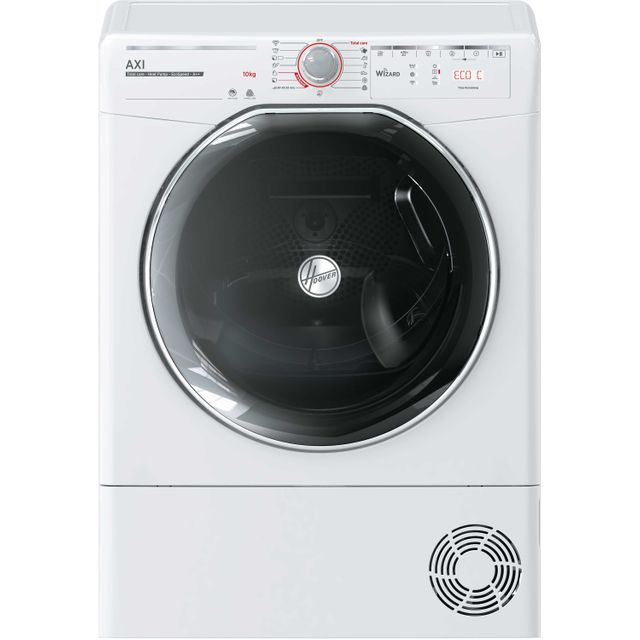 Hoover AXI ATDHY10A2TKEXS Wifi Connected 10Kg Heat Pump Tumble Dryer - White - A++ Rated