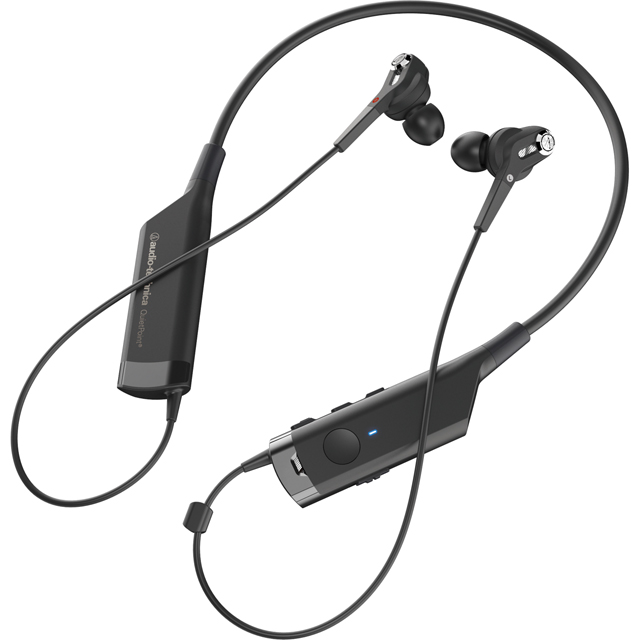 Audio Technica ATH-ANC40BT In ear Wireless Headphones - Black