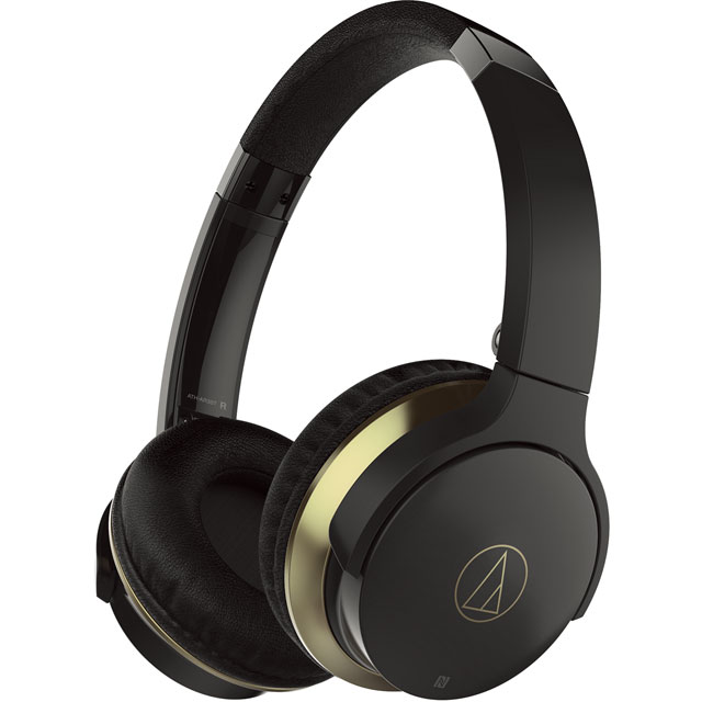 Audio Technica Over ear Wireless Headphones - Black
