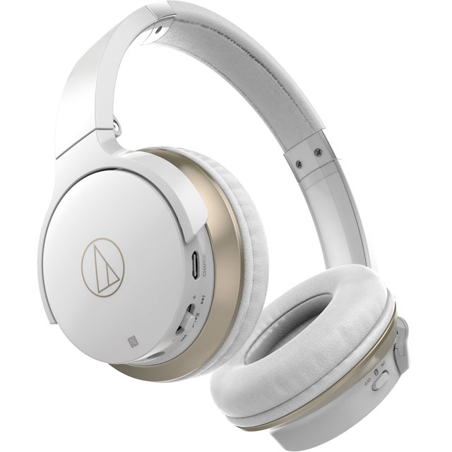 Audio Technica ATH-AR3BTWH Headphones in White