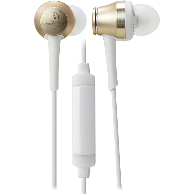 Audio Technica ATH-CKR70ISCG Headphones in Champagne Gold