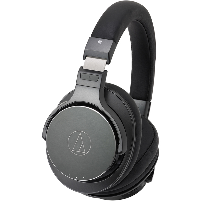 Audio Technica ATH-DSR7BT Over ear Wireless Headphones - Grey