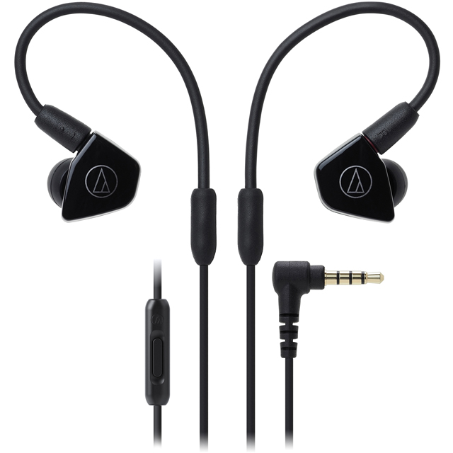 Audio Technica ATH-LS50ISBK In ear Headphones - Black