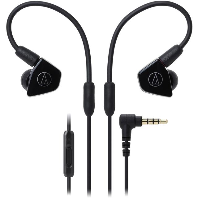 Audio Technica ATH-LS50ISBK Headphones in Black