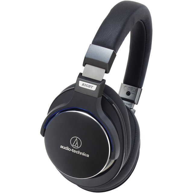 Audio Technica ATH-MSR7BK Over ear High-res Audio Headphones - Black