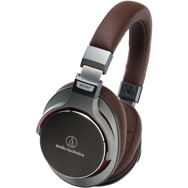 Audio Technica ATH-MSR7GM Over ear Headphones - Gun Metal