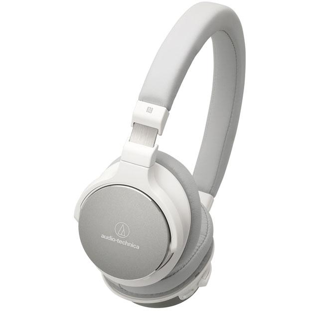 Audio Technica On ear High-res Audio Wireless Headphones - White