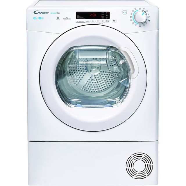 Candy Smart Pro CSOEC10DE Wifi Connected 10Kg Condenser Tumble Dryer - White - B Rated