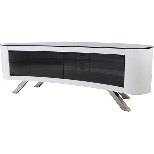 AVF FS1500BAYGW 3 Shelf TV Stand - Gloss White