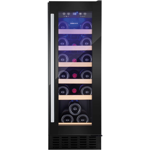 Amica AWC300BL Wine Cooler - Black - A Rated
