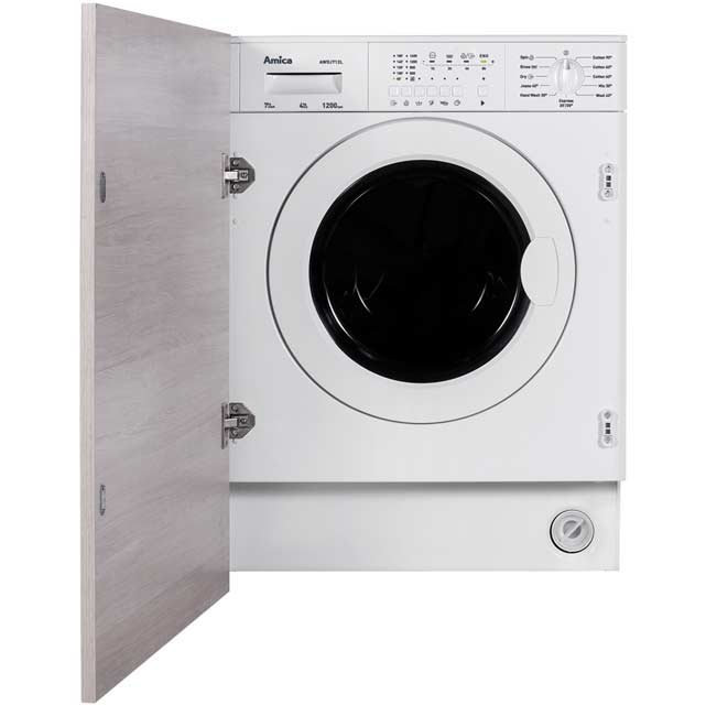 Amica AWDJ712L Integrated 7Kg / 4Kg Washer Dryer with 1200 rpm