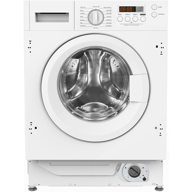 Amica AWDT814S Integrated Washer Dryer in White