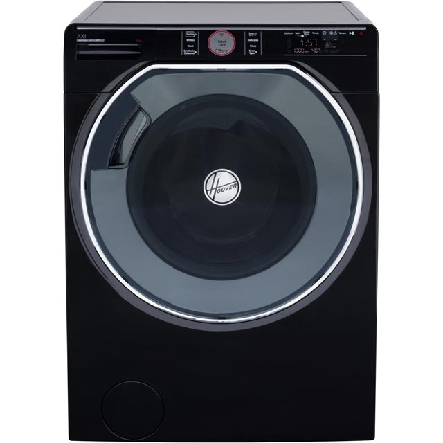 Hoover AXI AWMPD69LH7B Wifi Connected 9Kg Washing Machine with 1600 rpm - Black - A+++ Rated - AWMPD69LH7B_BK - 1