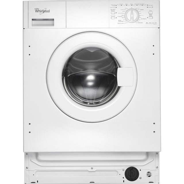 Whirlpool AWOA6122 Integrated 6Kg Washing Machine with 1200 rpm