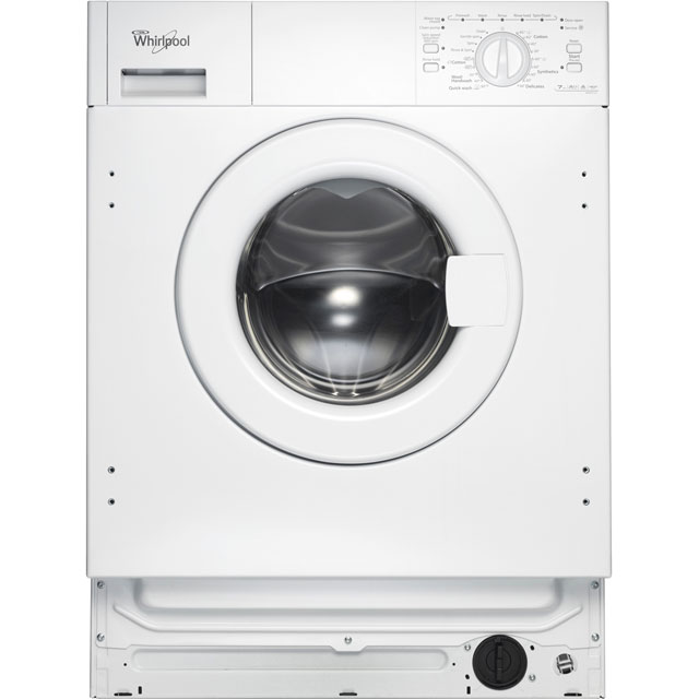 Whirlpool AWOA7123 Integrated 7Kg Washing Machine with 1200 rpm - A++ Rated