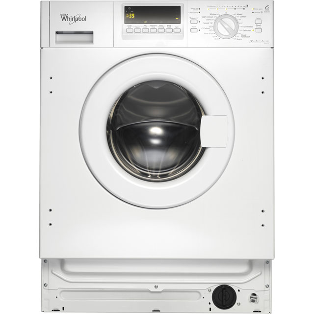 Whirlpool AWOE7143 Integrated 7Kg Washing Machine with 1400 rpm