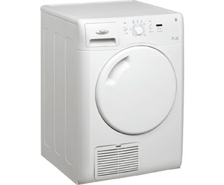 Whirlpool AZB7570 7Kg Condenser Tumble Dryer - White - B Rated - AZB7570_WH - 1
