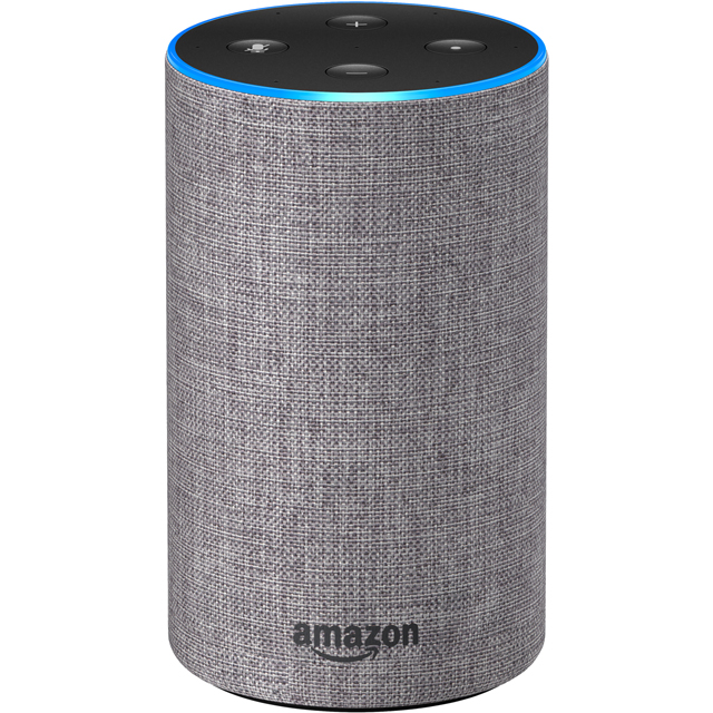 Amazon Echo (2nd Gen) Smart Speaker with Alexa - Grey - B0749YXKYZ - 1