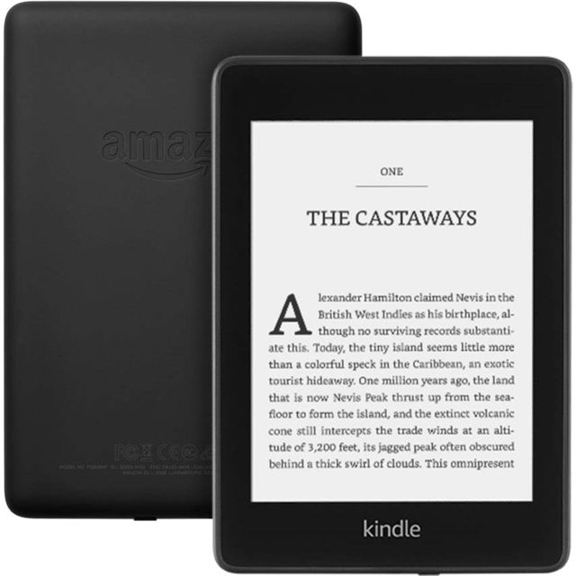 "Amazon Kindle Paperwhite with Special Offers 6"" 8GB eReader - Black - B07747FR44 - 1"