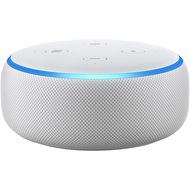 Amazon Echo Dot (3rd Gen) Smart Speaker with Alexa - White