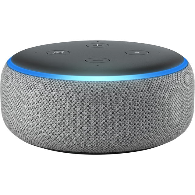 Amazon Echo Dot (3rd Gen) Smart Speaker with Alexa - Grey - B0792T5LJM - 1