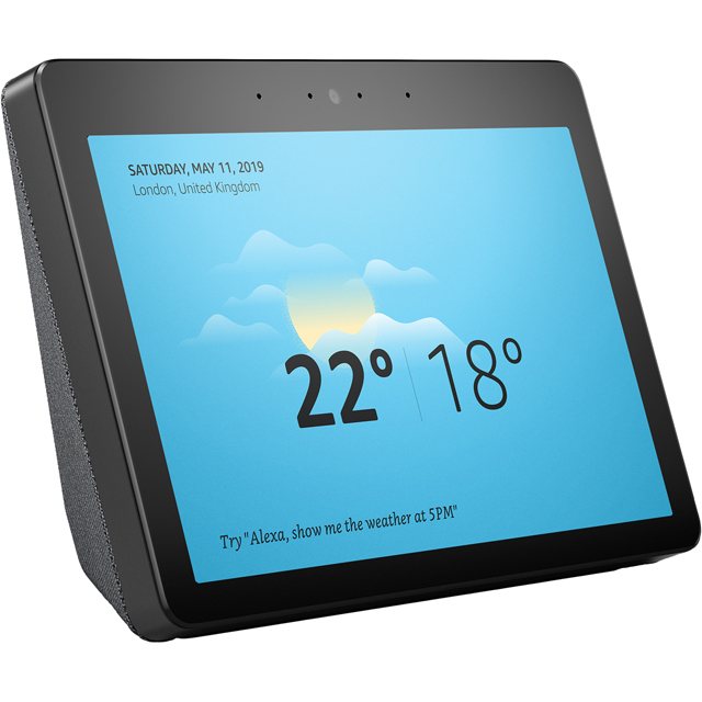 "Amazon Echo Show (2nd Gen) Smart Speaker with Alexa - 10.1"" Screen - Black - B0793G9T6T - 1"