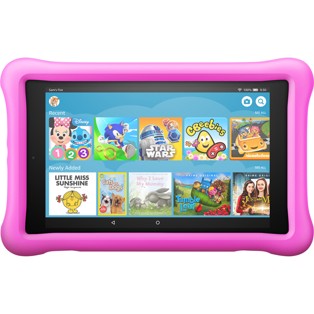 "Amazon Fire HD Kids Edition 8"" 32GB WiFi Tablet with Alexa - Pink - B0794VXCMV - 1"