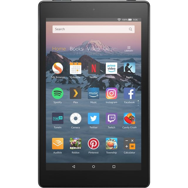 "Amazon Fire HD 8"" 16GB WiFi Tablet - Black - B0794ZL74C - 1"