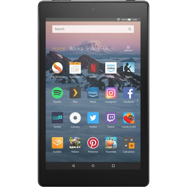 Amazon Fire Hd 8 Tablet (2018) - 16 Gb, Black - Currys