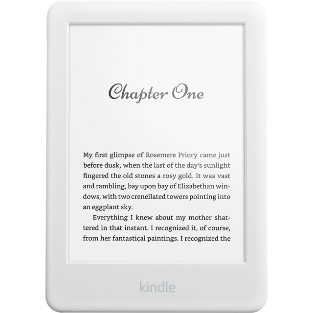 "Amazon Kindle 6"" 4GB eReader - White - B07FPX2YDK - 1"
