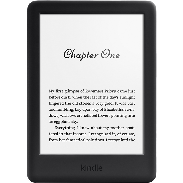 "Amazon Kindle 6"" 4GB eReader - Black - B07FQ473ZZ - 1"
