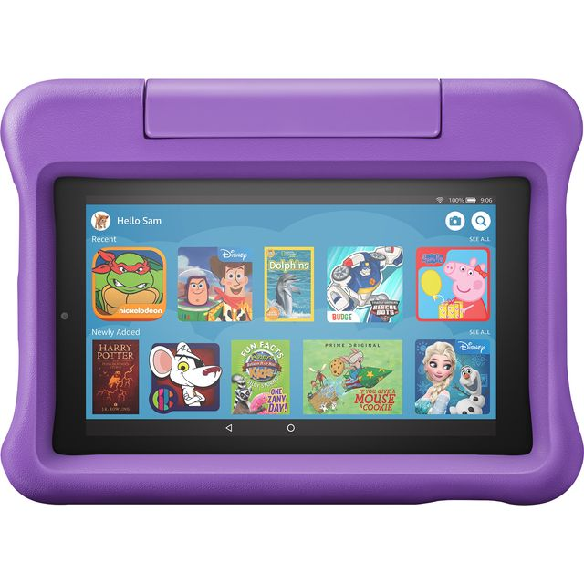 "Amazon Fire Kids Edition 7"" 16GB Wifi Tablet - Purple - B07H8RQC7T - 1"