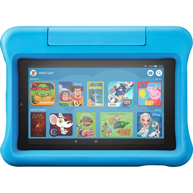 "Amazon Fire Kids Edition 7"" 16GB Wifi Tablet - Blue - B07H8XTGFN - 1"