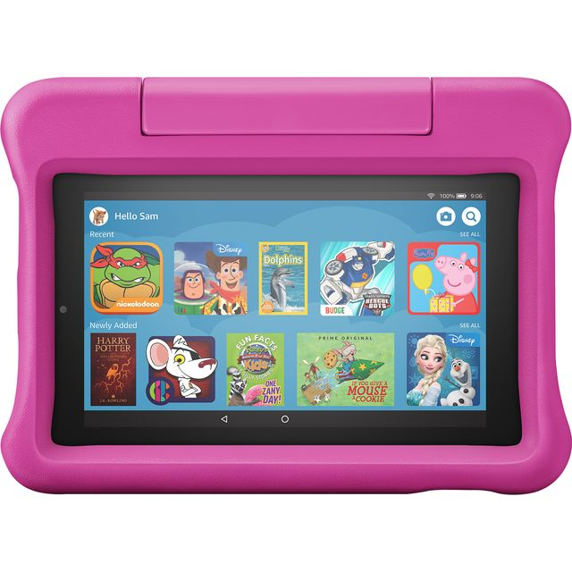"Amazon Fire Kids Edition 7"" 16GB Wifi Tablet - Pink - B07H926LKX - 1"