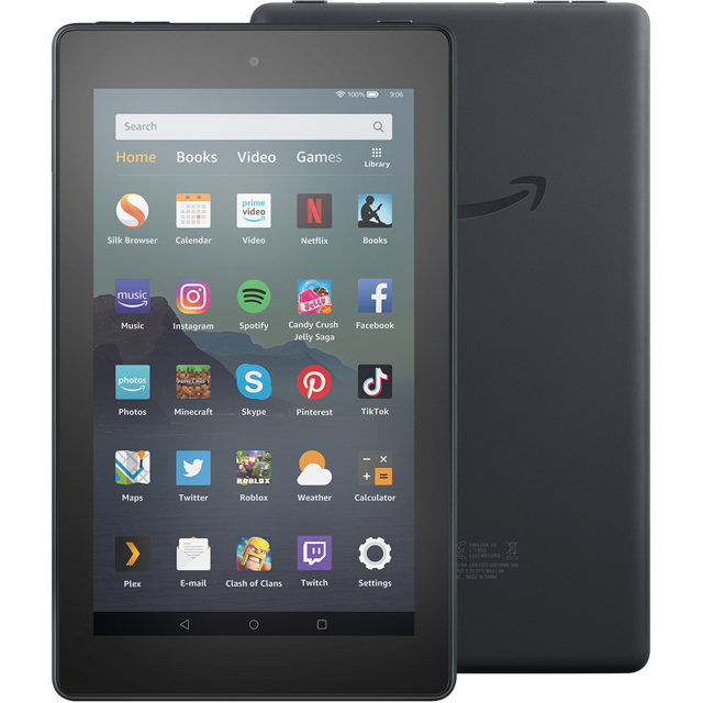 "Amazon Fire 7"" 32GB Wifi Tablet - Black - B07JQRYRJF - 1"