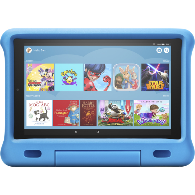 "Amazon Fire HD Kids Edition 10.1"" 32GB Wifi Tablet with Alexa [2019] - Blue - B07KD6HD8B - 1"