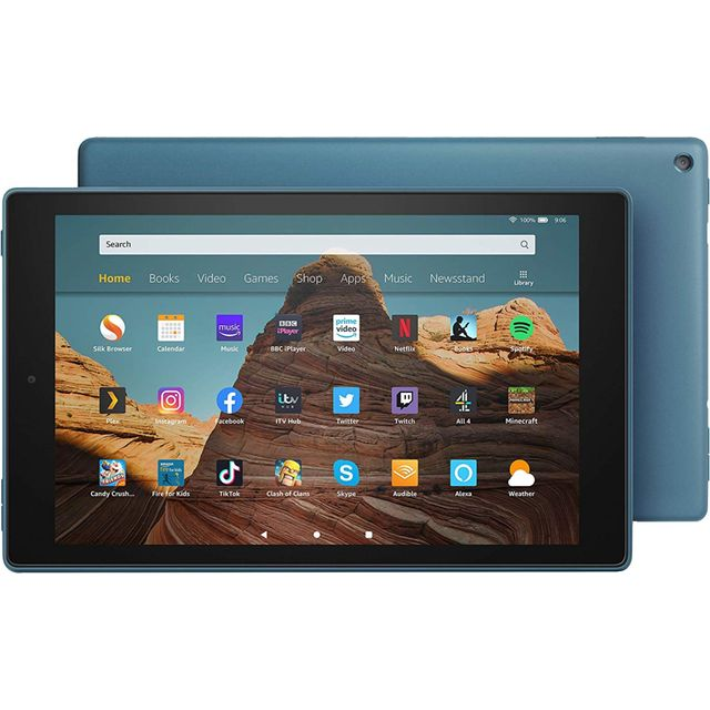 "Amazon Fire HD 10.1"" 32GB Wifi Tablet with Alexa [2019] - Twilight Blue"