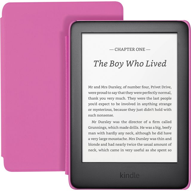 "Amazon Kindle Kids Edition 6"" 8GB eReader - Pink - B07NMWC6YP - 1"