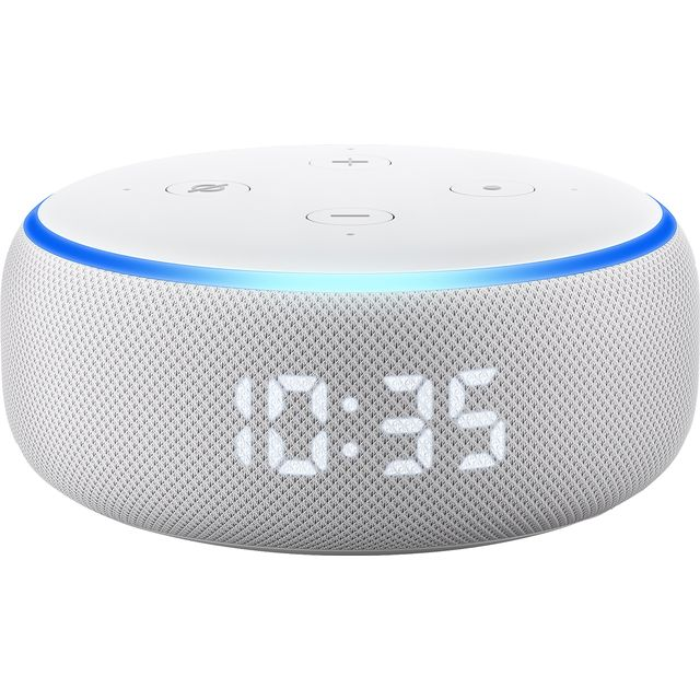 Amazon Echo (3rd Gen) Smart Speaker with Clock with Alexa - Sandstone
