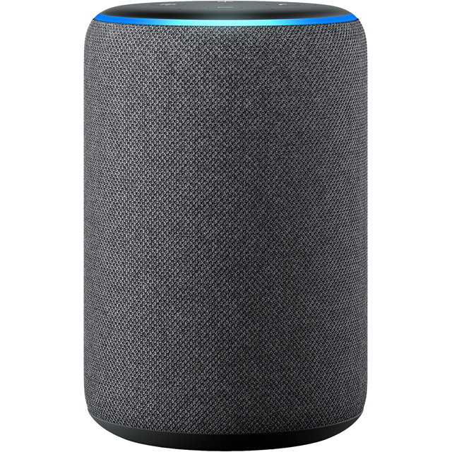 Amazon Echo (3rd Gen) Smart Speaker with Alexa - Charcoal