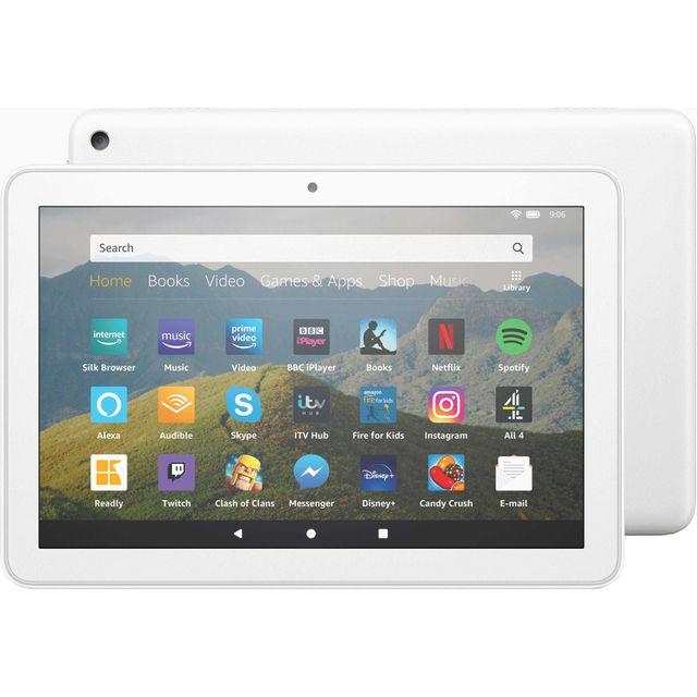 "Amazon Fire HD 8"" 32GB Wifi Tablet - White"