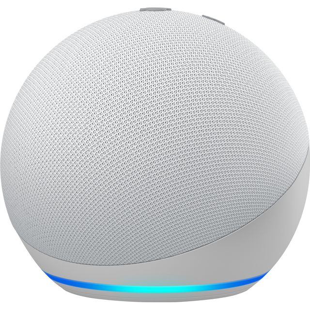 Image of Amazon Echo Dot (4th Gen) Smart Speaker with Amazon Alexa - White