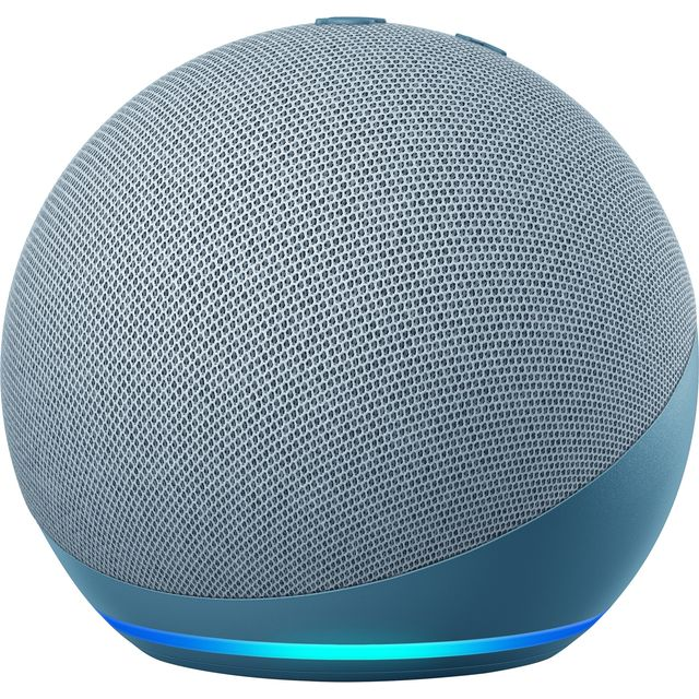 Image of Amazon Echo Dot (4th Gen) Smart Speaker with Amazon Alexa - Blue