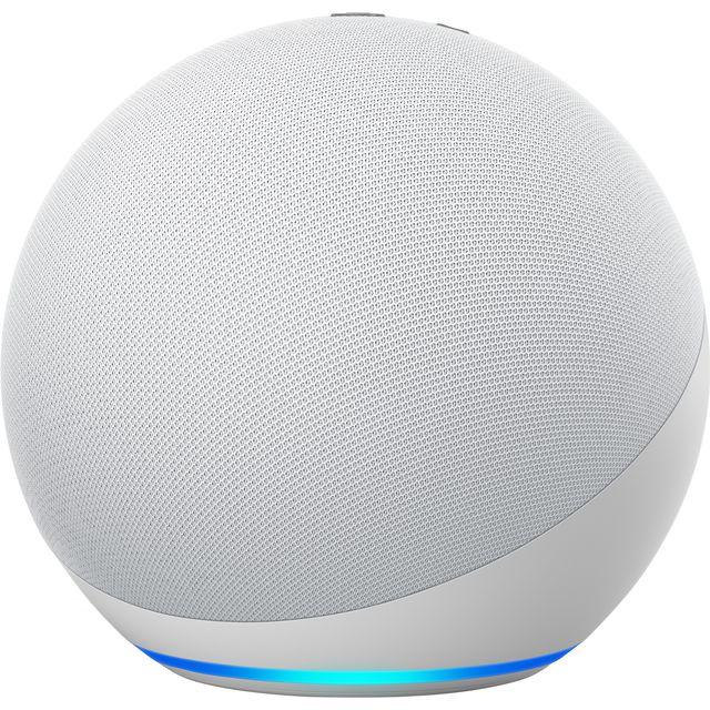 Image of Amazon Echo (4th Gen) Smart Speaker with Amazon Alexa - White