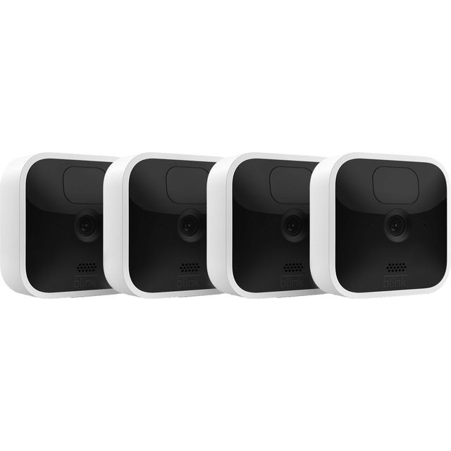 Image of Blink Indoor 4-camera system Full HD 1080p - White