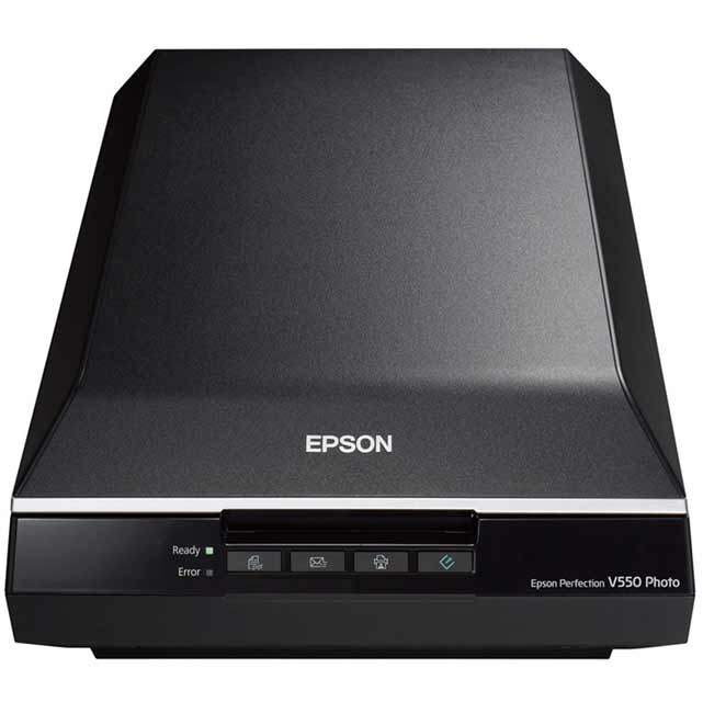 Epson Perfection V550 Photo Scanner review